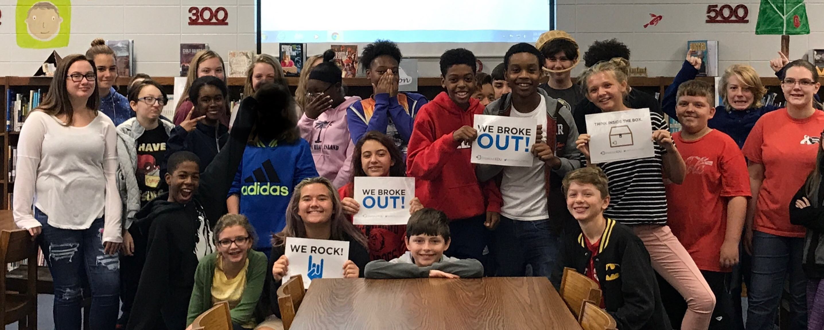 The Outsiders Breakout EDU with Ms. Stewart and Mr. Perry's 8th Grade ELA