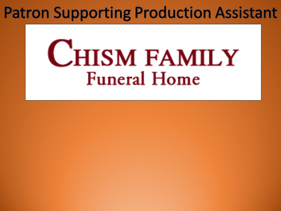 Thanks to Chism Family Funeral Home for their sponsorship!