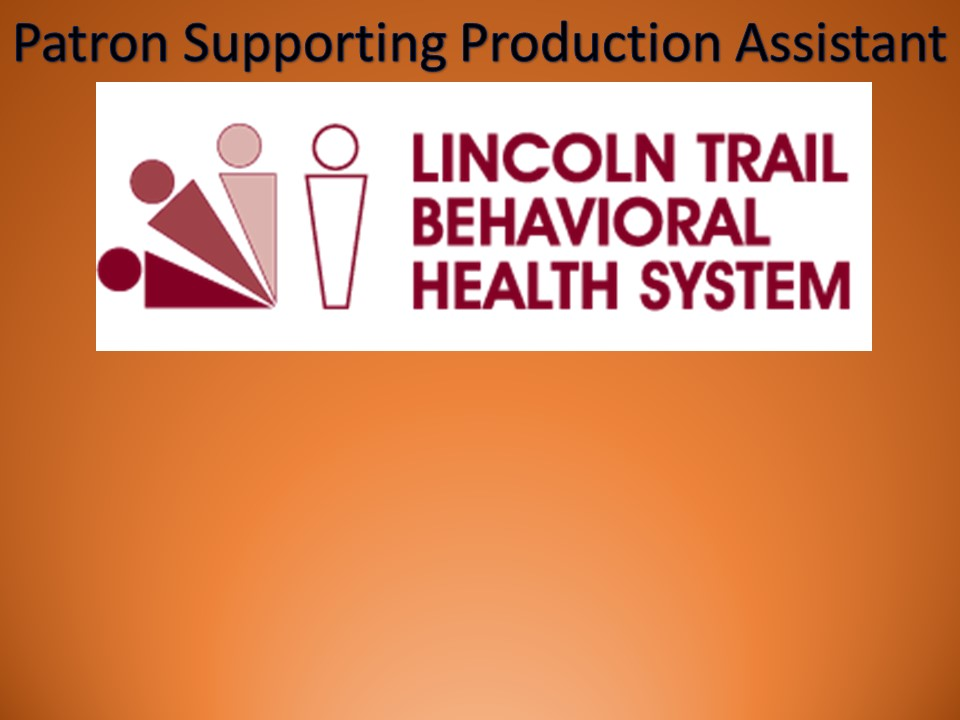 Thanks to Lincoln Trail Behavioral Health System for their Sponsorship!