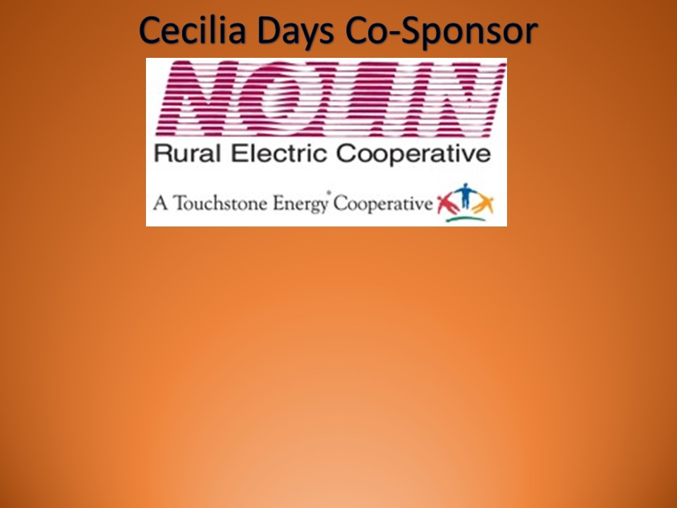 Thanks to Nolin RECC for their Sponsorship!