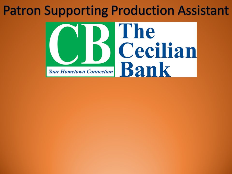 Thanks to The Cecilian Bank for their Sponsorship!