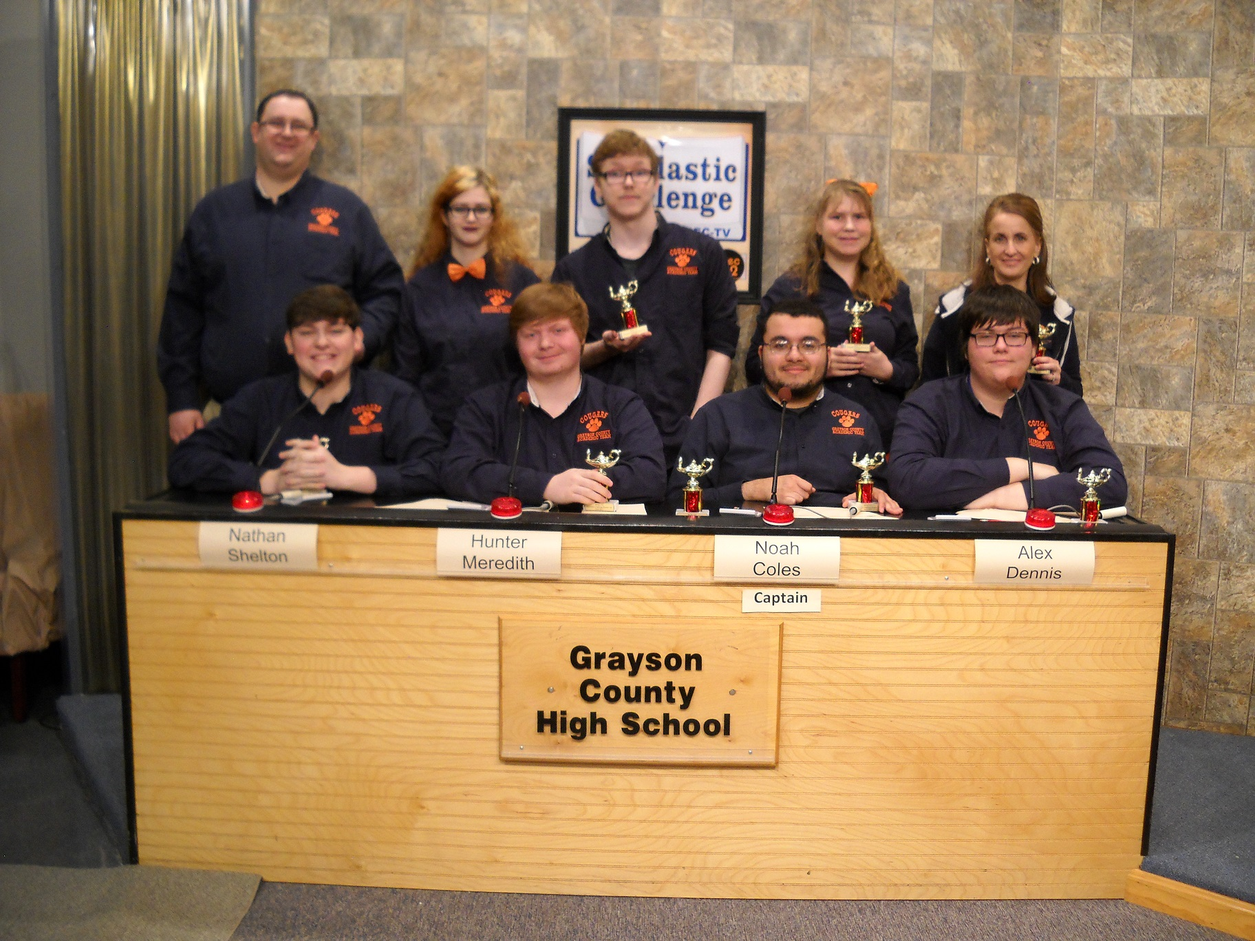 Grayson County High School -- Scholastic Challenge Runner-Up 2016-17
