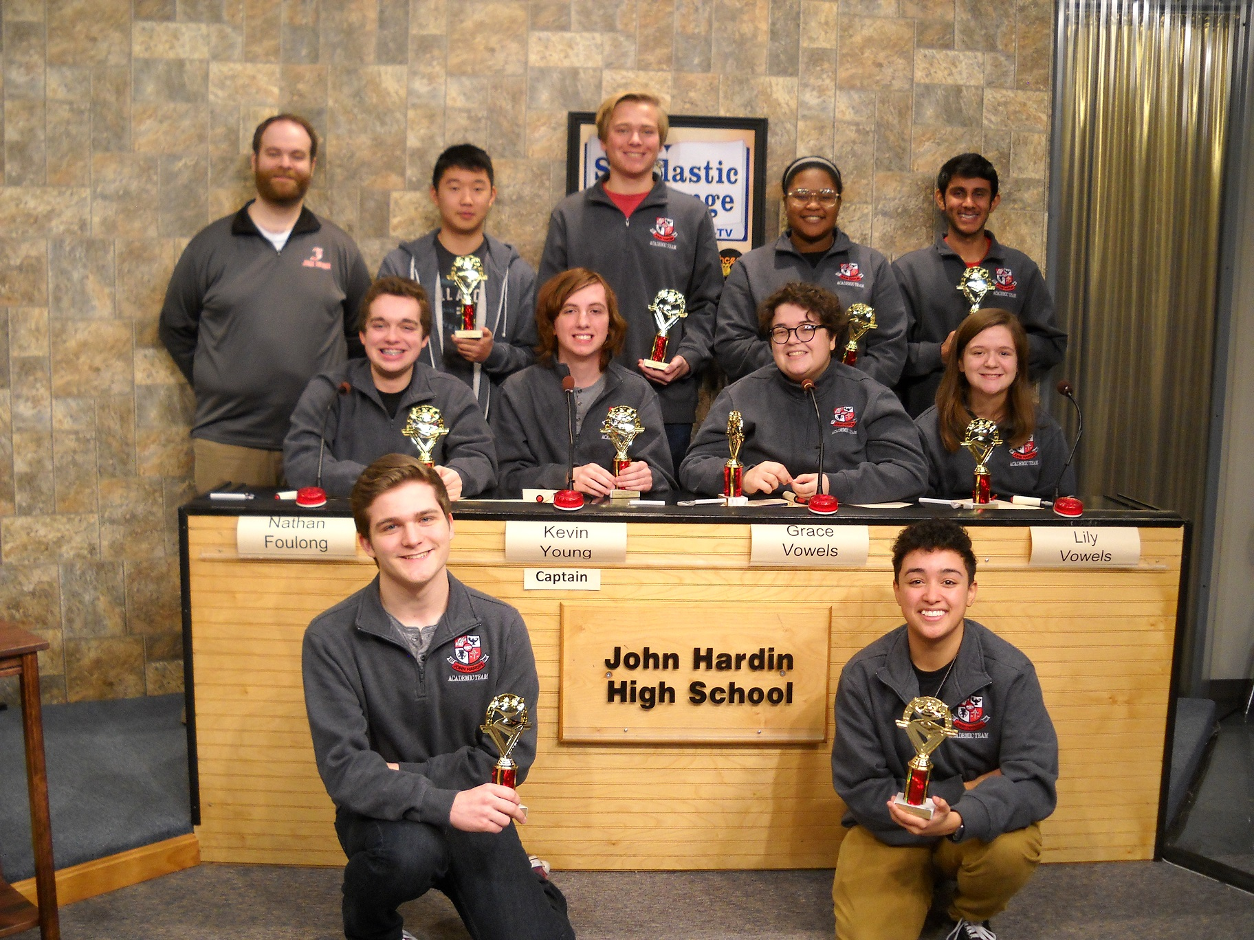 John Hardin High School -- Scholastic Challenge winner 2016-17